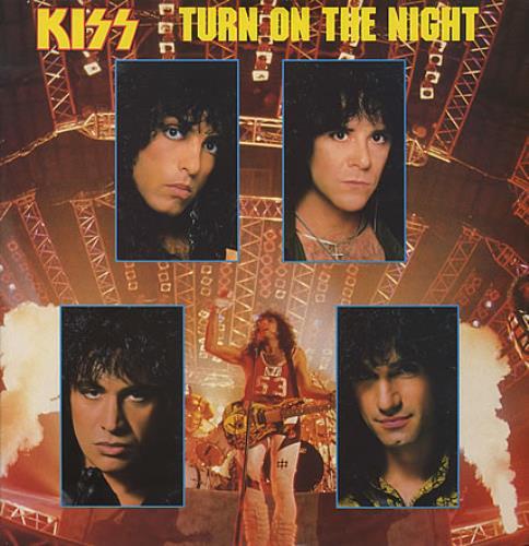 "Kiss Turn On The Night 12"" vinyl single (12 inch record / Maxi-single) UK KIS12TU14427"