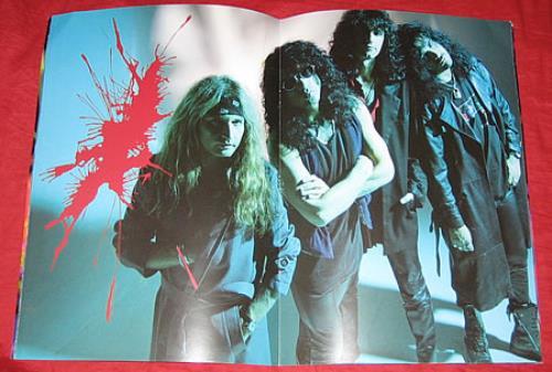 Kiss Worldwide 1995-1996 tour programme Japanese KISTRWO190177