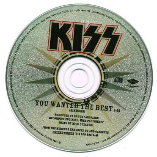 "Kiss You Wanted The Best CD single (CD5 / 5"") US KISC5YO127776"