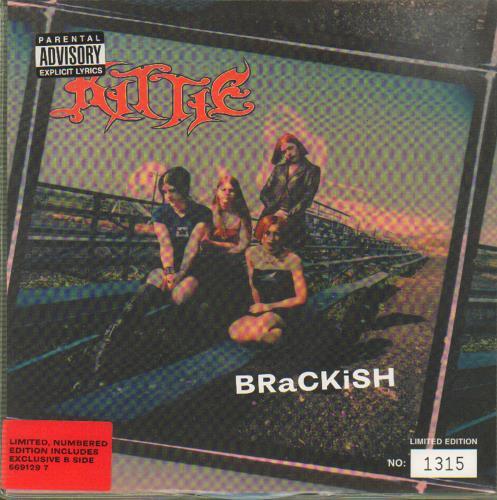 "Kittie BRaCKiSH - Blue 7"" vinyl single (7 inch record) UK KTI07BR153145"