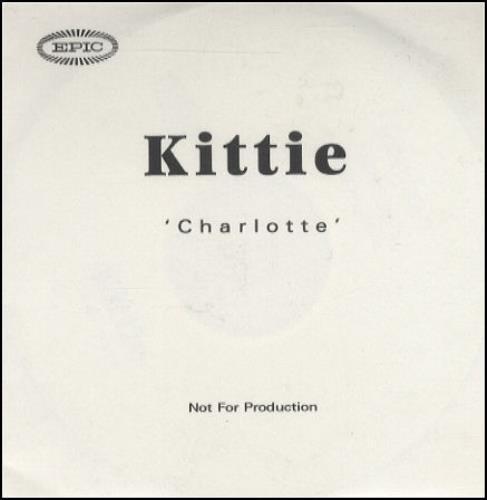 Kittie Charlotte - 3-trk CD-R acetate UK KTICRCH160933
