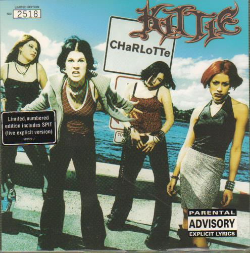 "Kittie CHaRLoTTe - White 7"" vinyl single (7 inch record) UK KTI07CH160346"