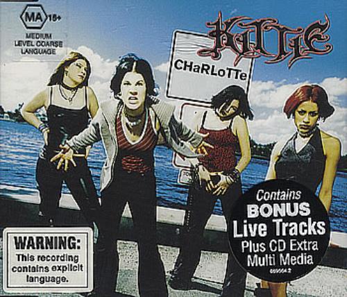"Kittie Charlotte CD single (CD5 / 5"") Australian KTIC5CH363401"