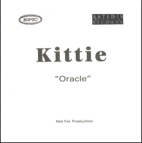 Kittie Oracle - album CD-R acetate UK KTICROR223308