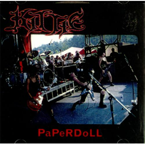 Kittie Paperdoll CD-R acetate US KTICRPA225545