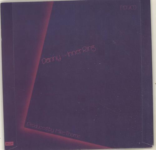 """Kit Hain Danny 7"""" vinyl single (7 inch record) UK KX807DA696768"""