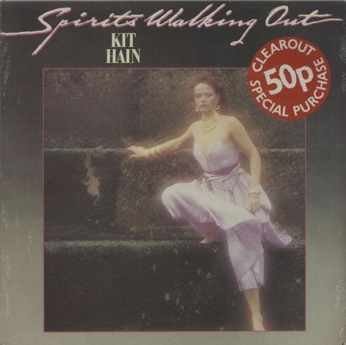 Kit Hain Spirits Walking Out vinyl LP album (LP record) UK KX8LPSP602871