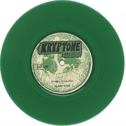 "Klark Kent Too Kool To Kalypso - Green 7"" vinyl single (7 inch record) UK KLK07TO47582"