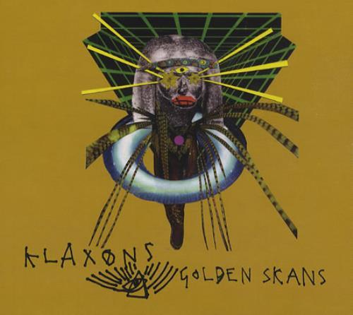 "Klaxons Golden Skans CD single (CD5 / 5"") UK KBXC5GO410590"