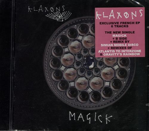 "Klaxons Magick - Sealed CD single (CD5 / 5"") French KBXC5MA577079"