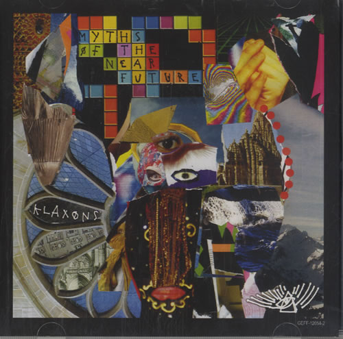 Klaxons Myths Of The Near Future CD-R acetate US KBXCRMY474155