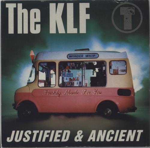 "KLF Justified & Ancient 7"" vinyl single (7 inch record) UK KLF07JU662140"