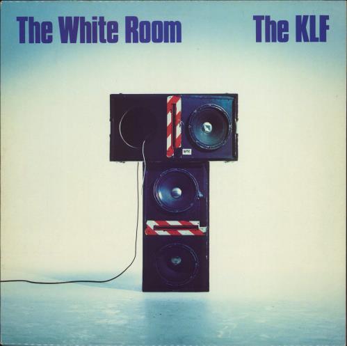 KLF The White Room + insert vinyl LP album (LP record) Belgian KLFLPTH771372