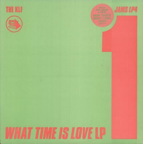 KLF What Time Is Love LP - EX vinyl LP album (LP record) UK KLFLPWH396869