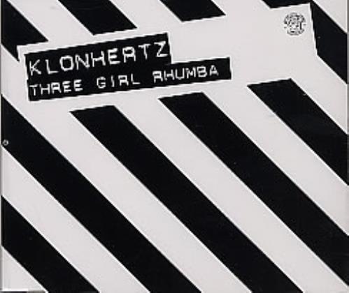 """Klonhertz Three Girl Rhumba CD single (CD5 / 5"""") UK KL1C5TH265646"""