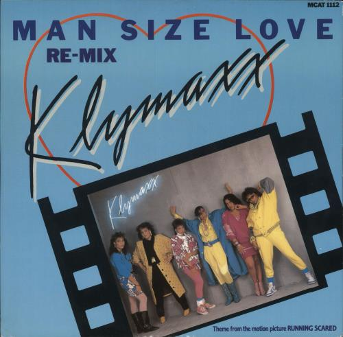 "Klymaxx Man Size Love 12"" vinyl single (12 inch record / Maxi-single) UK XXK12MA726233"