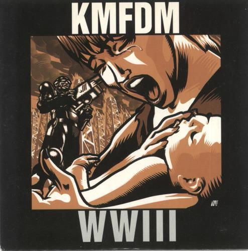 KMFDM WWIII CD album (CDLP) UK KM7CDWW720225