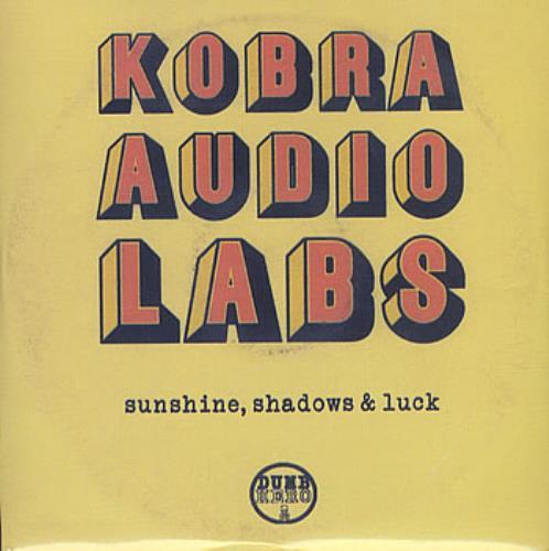 Kobra Audio Labs Sunshine, Shadows & Luck CD album (CDLP) UK KOBCDSU384662