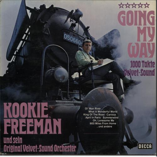 Kookie Freeman Going My Way vinyl LP album (LP record) German KO7LPGO643190
