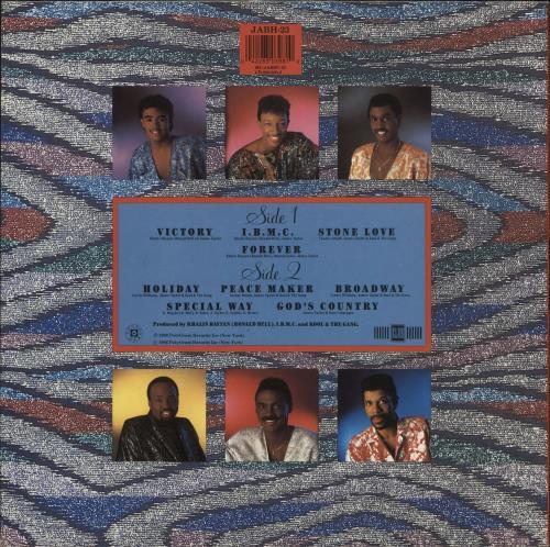 Kool & The Gang Forever vinyl LP album (LP record) UK KOOLPFO588376