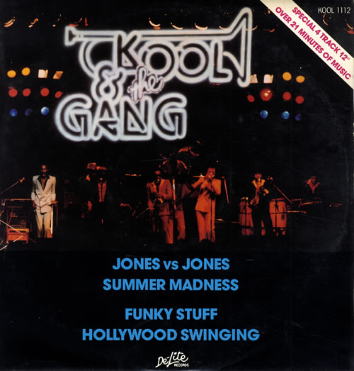 Kool The Gang Jones Vs Jones Ep Uk 12 Vinyl Single 12