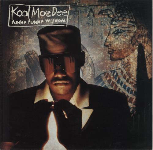 Kool Moe Dee Funke Funke Wisdom vinyl LP album (LP record) UK KO5LPFU686343