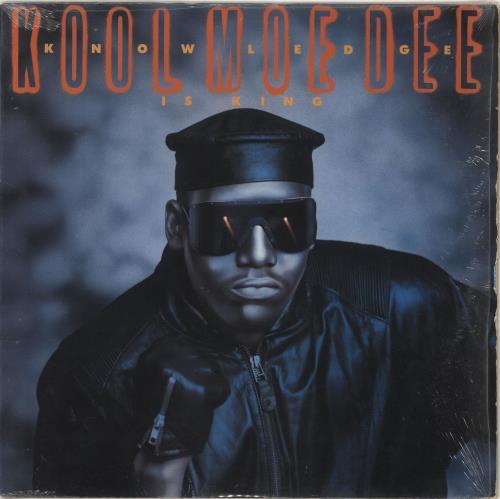 Kool Moe Dee Knowledge Is King vinyl LP album (LP record) US KO5LPKN727557