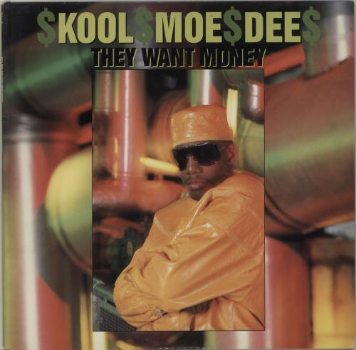 "Kool Moe Dee They Want Money 12"" vinyl single (12 inch record / Maxi-single) US KO512TH686344"