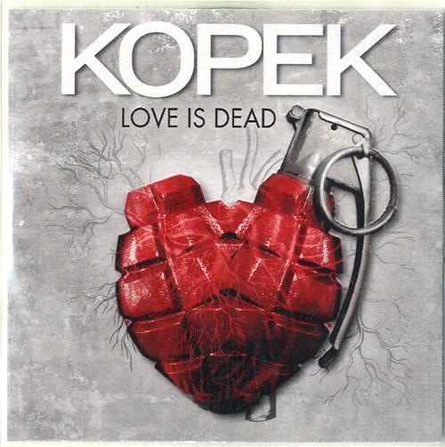 Kopek Love Is Dead CD-R acetate UK K10CRLO615161