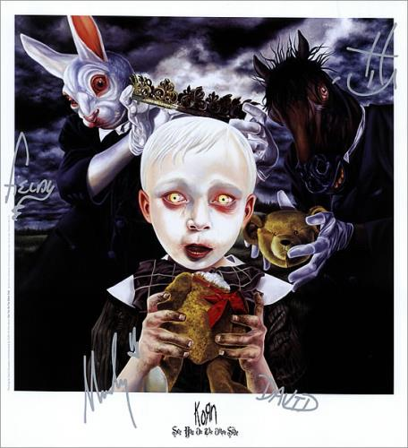 Korn See You On The Other Side Us Promo Memorabilia 473655 Lithograph