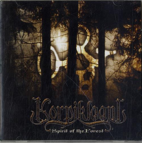 Korpiklaani Spirit Of The Forest CD album (CDLP) UK K3RCDSP620065