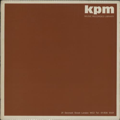 KPM Library KPM Music Recorded Library - KPM 088A To 092B vinyl LP album (LP record) UK KP1LPKP612921