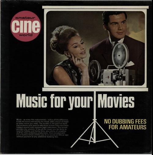 KPM Library Music For Your Movies UK vinyl LP album (LP