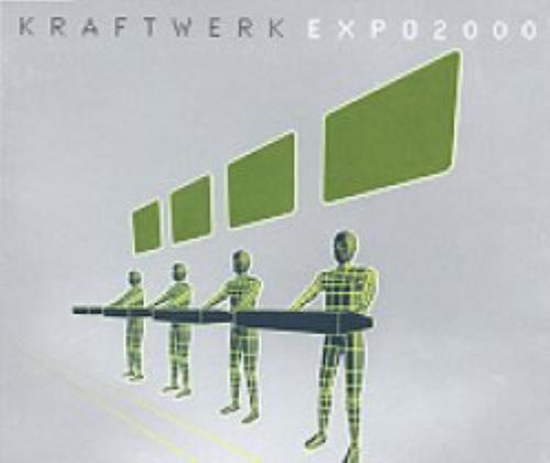 """Kraftwerk EXPO 2000 CD single (CD5 / 5"""") UK KRAC5EX151527"""