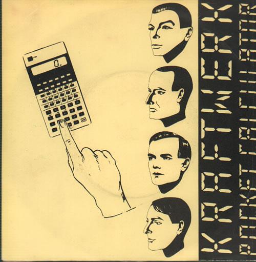 """Kraftwerk Pocket Calculator 7"""" vinyl single (7 inch record) UK KRA07PO635830"""