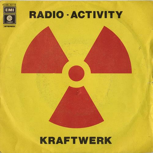 "Kraftwerk Radio-Activity 7"" vinyl single (7 inch record) Italian KRA07RA183495"