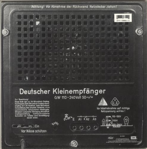 Kraftwerk Radio-Activity vinyl LP album (LP record) US KRALPRA718229