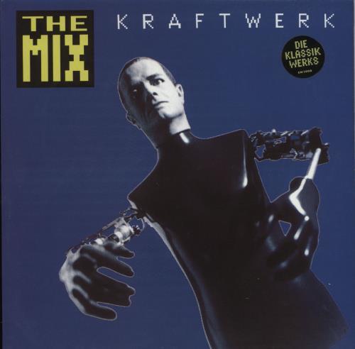 Kraftwerk The Mix - Stickered Sleeve 2-LP vinyl record set (Double Album) UK KRA2LTH724144