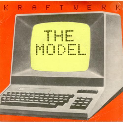 "Kraftwerk The Model 7"" vinyl single (7 inch record) UK KRA07TH31804"