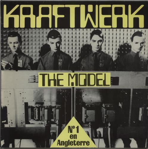 "Kraftwerk The Model French Promo 12"" vinyl single (12 inch"