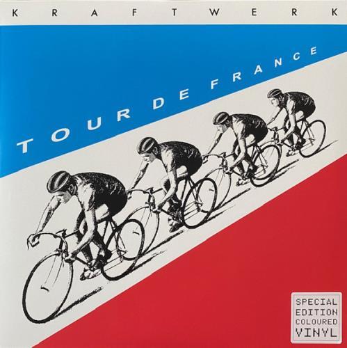 Kraftwerk Tour De France - Red & Blue Vinyl - Sealed 2-LP vinyl record set (Double Album) UK KRA2LTO753974