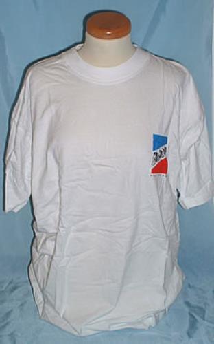 KRAFTWERK Tour De France (Scarce 2003 UK  Tour De France  white cotton  round neck T-Shirt featuring the  Cyclist  album sleeve illustration on the  right ... d7a06700c