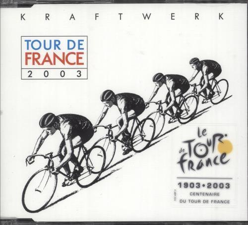 "Kraftwerk Tour De France 2003 CD single (CD5 / 5"") UK KRAC5TO250595"