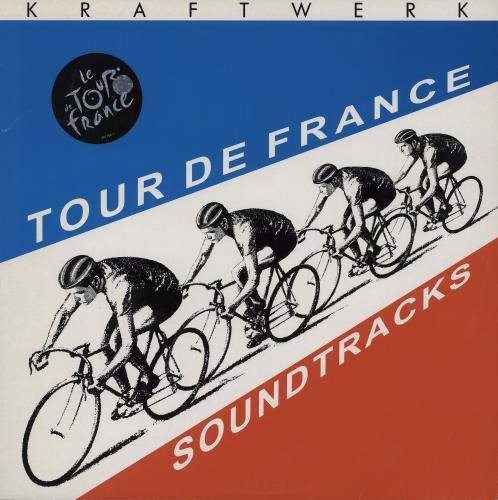 Kraftwerk Tour De France 2003 2-LP vinyl record set (Double Album) UK KRA2LTO251289