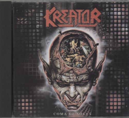 Kreator Coma Of Souls CD album (CDLP) UK KR6CDCO705979