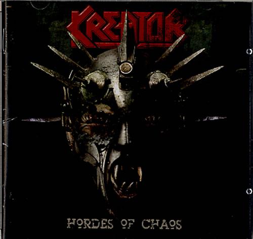 Kreator Hordes Of Chaos CD album (CDLP) Argentinean KR6CDHO607962