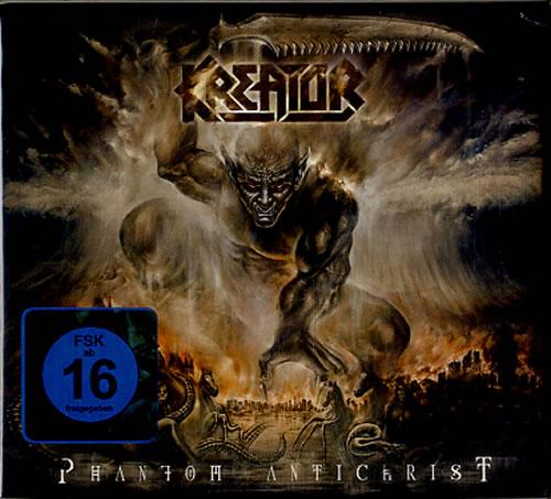 Kreator Phantom Antichrist 2-disc CD/DVD set German KR62DPH607963