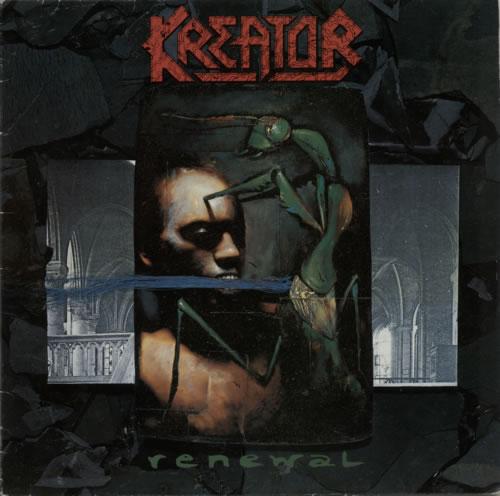 Kreator Renewal vinyl LP album (LP record) German KR6LPRE615322