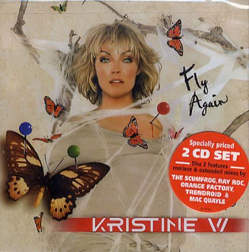 Kristine W Fly Again 2 CD album set (Double CD) US KRW2CFL364928