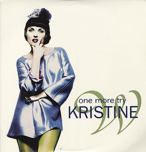 "Kristine W One More Try 12"" vinyl single (12 inch record / Maxi-single) UK KRW12ON315900"